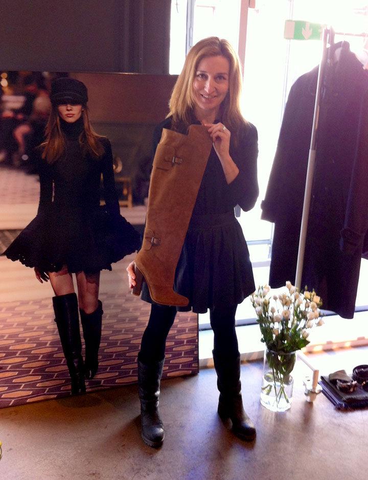 Martina Bonnier fick se höstkollektionen från H&M