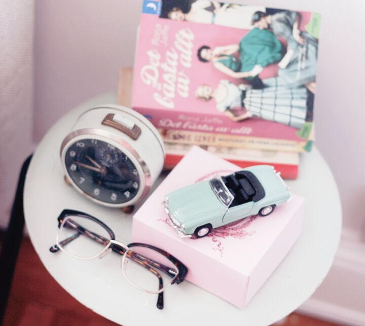 emmas vintage bil klockan inredning