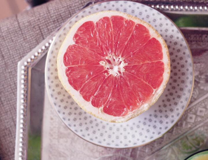 emmas vintage vintageblogg frukost grapefrukt