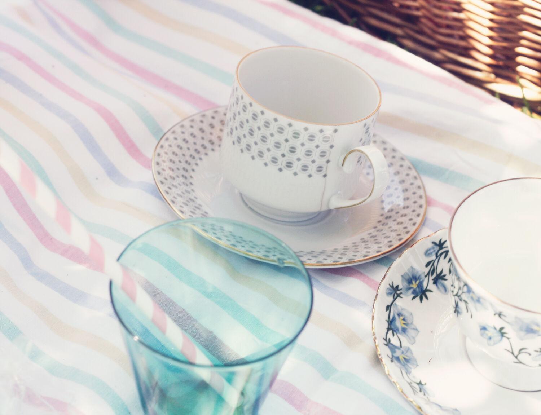emmas vintage picknick picnic inspiration vintageblogg randiga sugrör