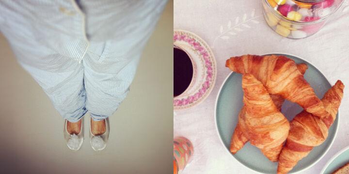 emmas vintage frukost pyjamas