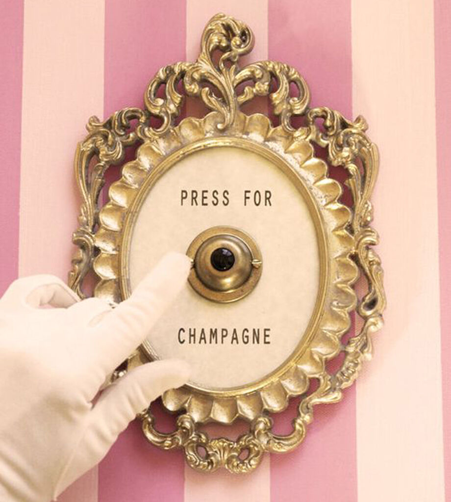 press for champagne