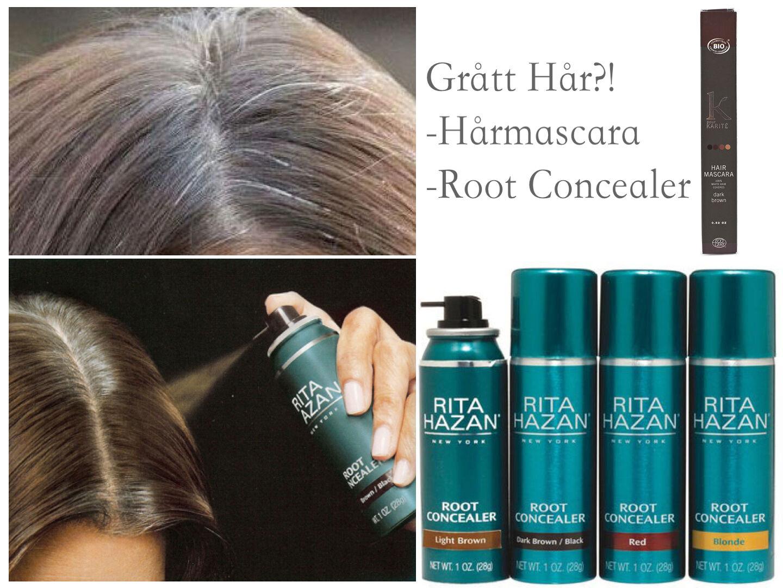 vilken hårfärg täcker grått hår bäst