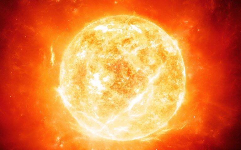 Sun lava