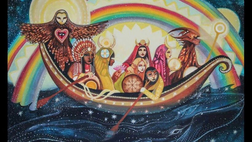 Prophecy warriors of the rainbow