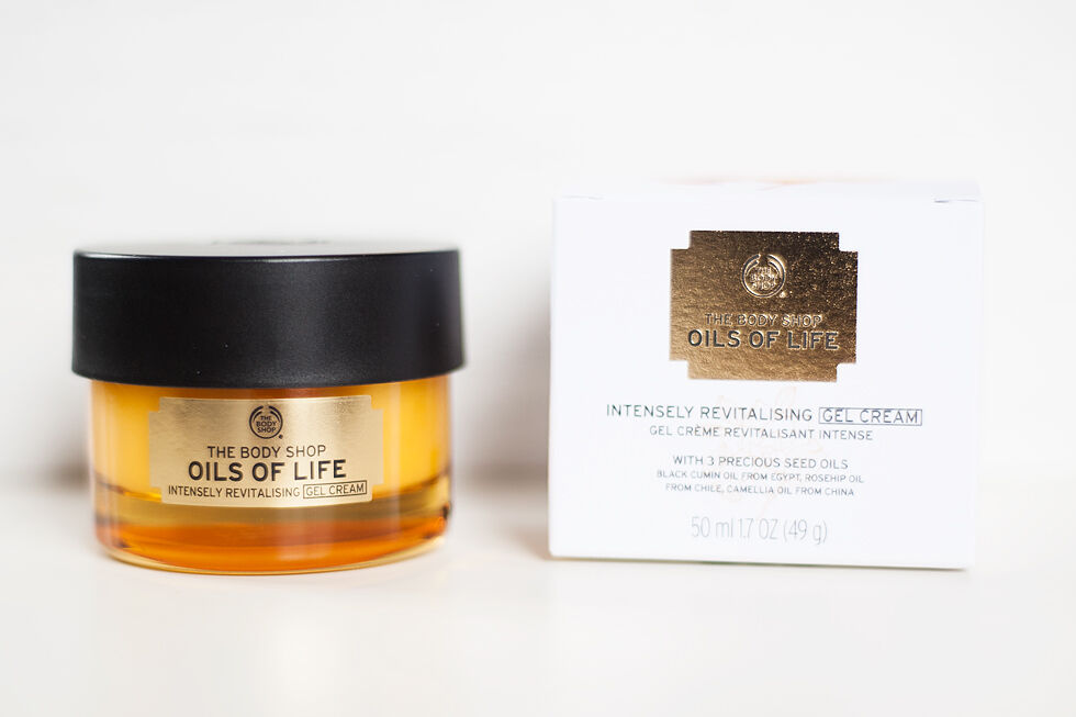 the body shop oils of life