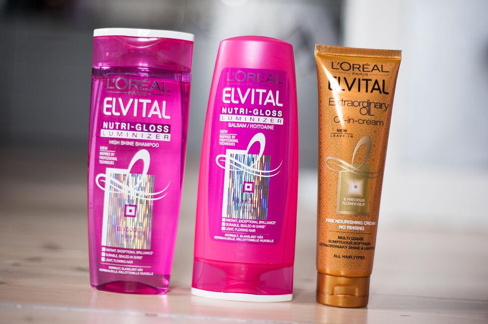 l'oréal paris elvital extraordinary oil oil-in-cream nutri-gloss luminizer