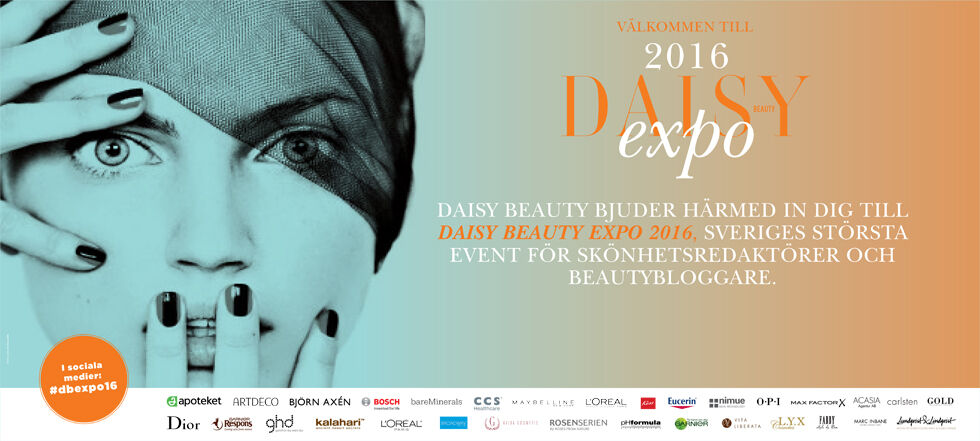 #dbexpo16 daisy beauty expo 2016