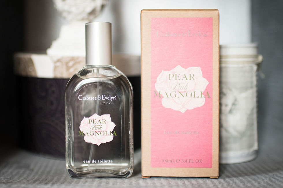 crabtree and evelyn pear and pink magnolia
