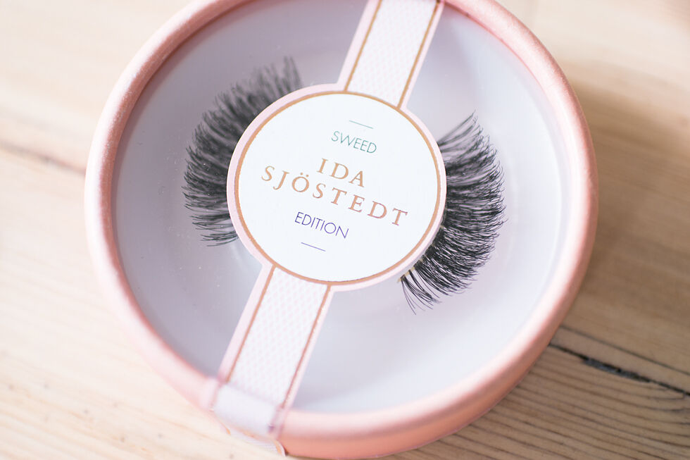 sweed lashes ida sjöstedt edition