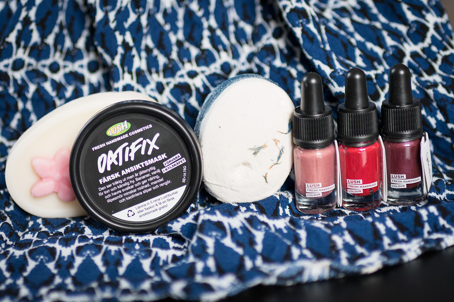 lush oatifix theo deo tender is the night lip color