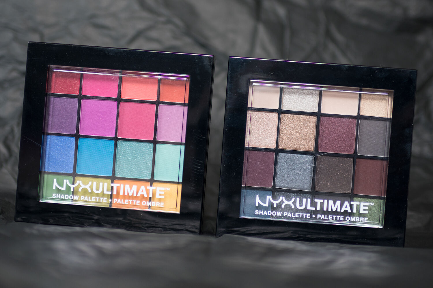 nyx the halo look Ultimate Shadow Palette Pro Lip Cream Palette
