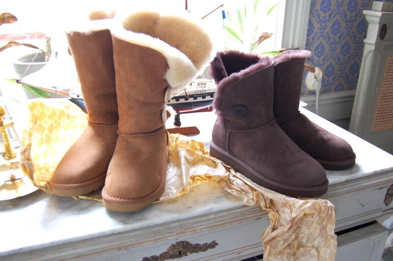 Efter tre veckors väntan kom äntligen paketet med mina nya Uggs. Dessa fulsnygga skor är bara det skönaste man kan ha på fötterna.