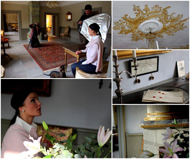 """Vacker dotter och vackra detaljer. Josephine tänker spinna vidare på gårdens marmorbrott och har startat företaget """"Svensk Marmor"""" som ska producera hennes egen formgivning av bord, brickor och lampfötter i Ekebergsmarmor."""