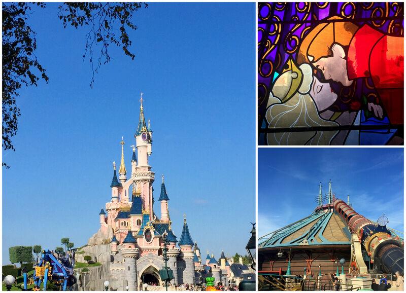 Resan började egentligen med ett besök på Euro Disney. Vädret var strålande och lika varmt som en svensk försommardag.