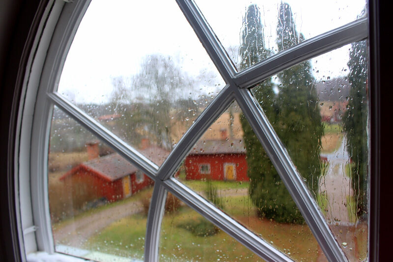 Men åh vilket tråkigt väder. Det får nog bli lite bastu senare idag!