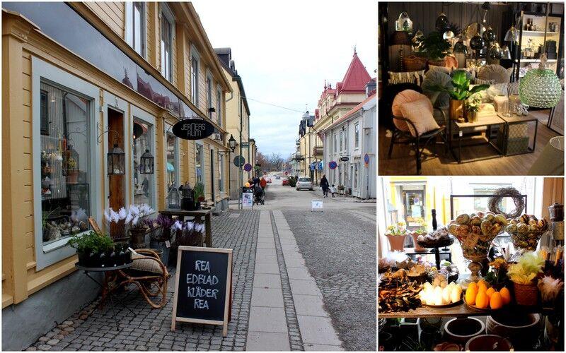 Påväg hem från stockholm stannade vi i Mariefred och besökte mysiga butiken Jern Rum.