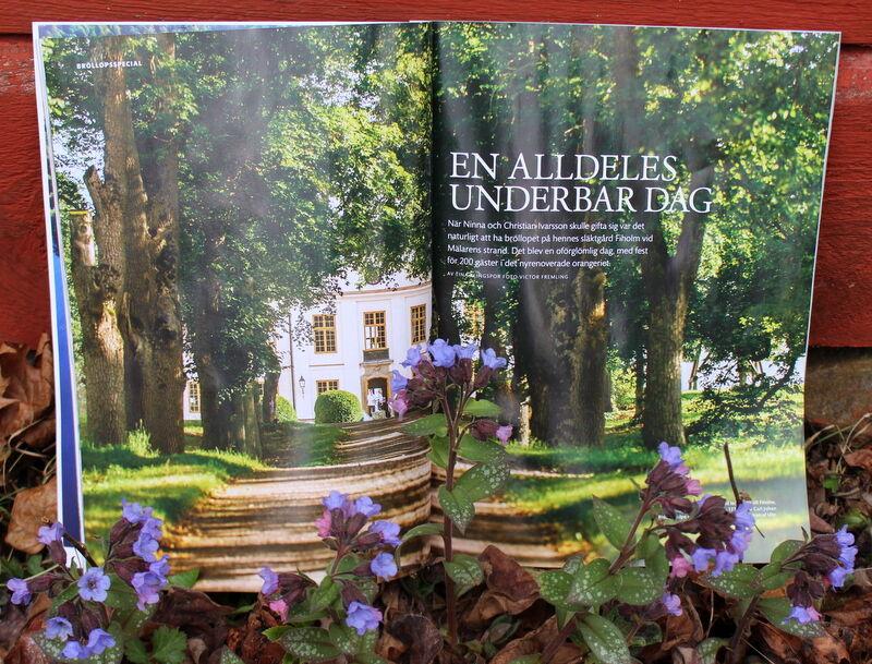 Jättefina somriga bilder från vackra Fiholm.