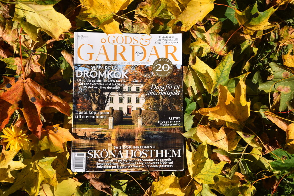 Det fina oktobernumret finns i hyllorna ett tag till, men nästa nummer är på gång. Höstmys!