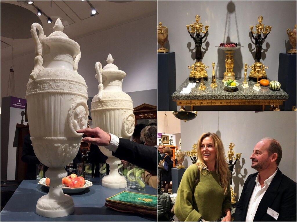 Theo Lundgren från Lundgrens Antikhandel berättar bland annat att vi svenskar gärna köper föremål som går att sätta ljus i.