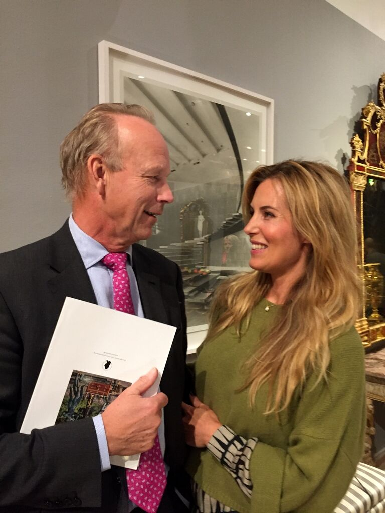 Ett kärt och inte helt otippat återseende av Verner Åmell, Sveriges ledande konsthandlare. Tidigare har jag oftast träffat honom i jaktkläder eller smoking.