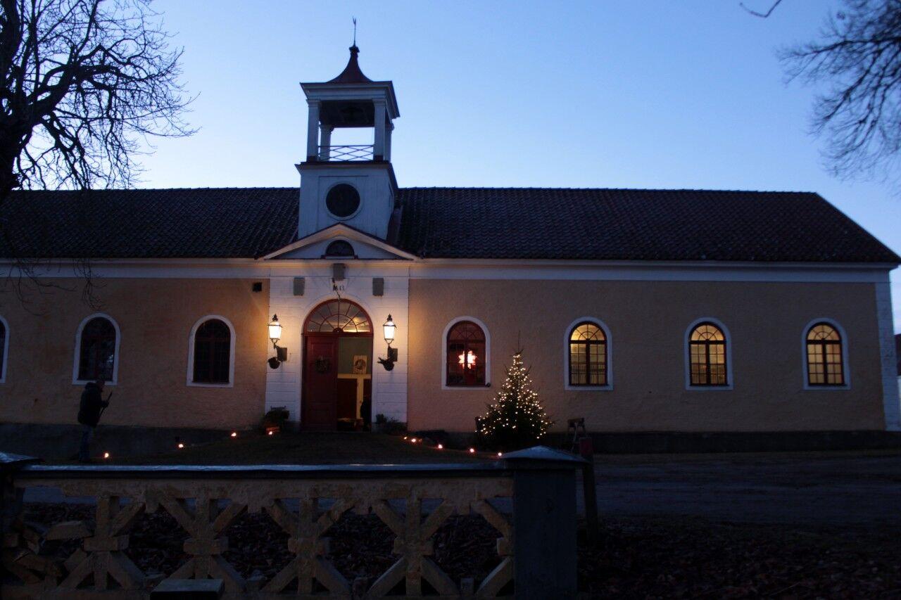I går hade Therese Rüdén sin årliga stallglögg på Stora Sundby.