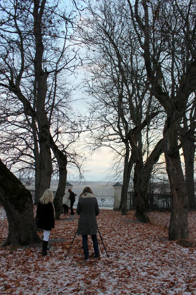I veckan var jag och fotograf Ingalill Snitt och fotade ett säteri i Västmanland.