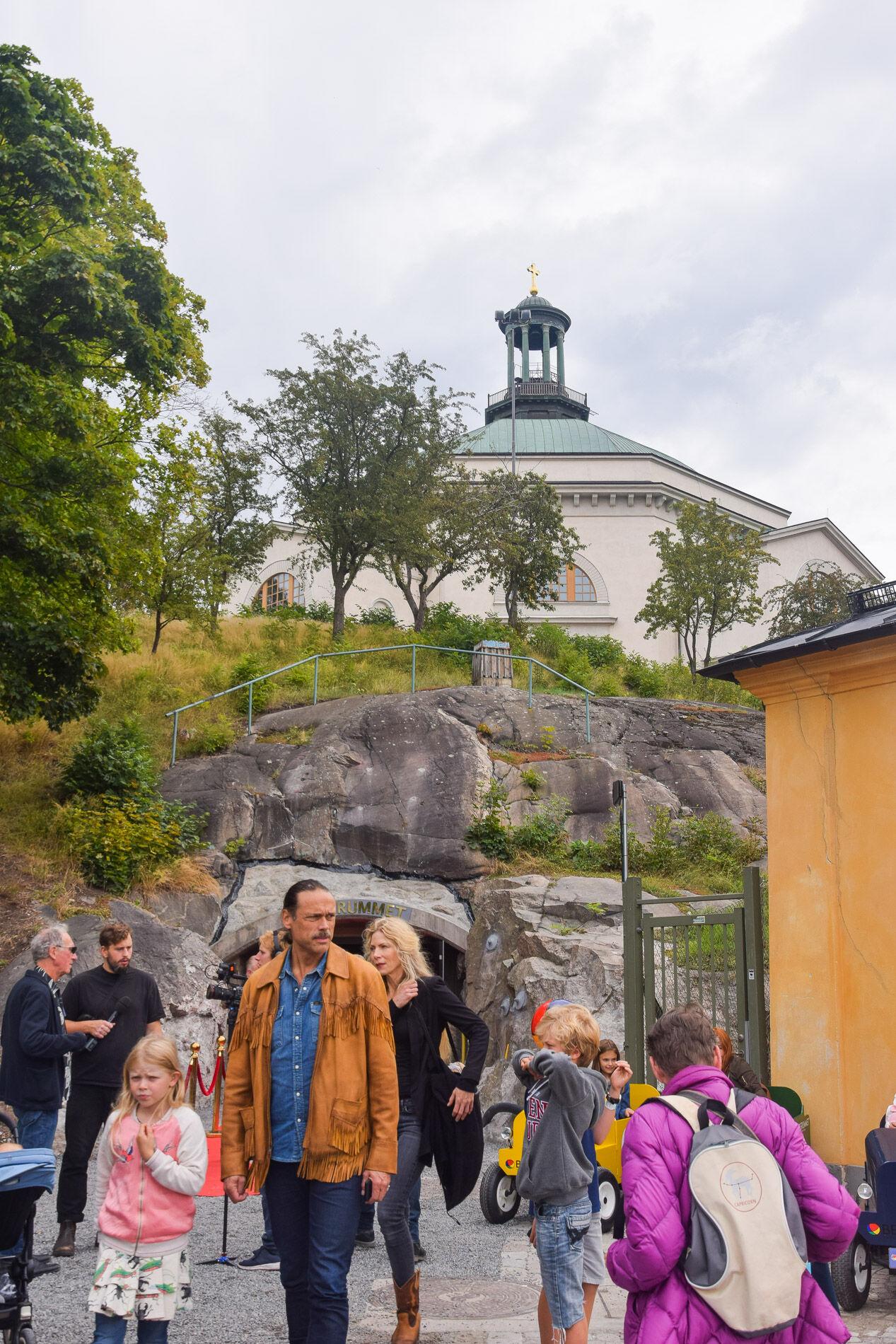 David von Schinkel (den yngre) har därför flytta sin pappas stora leksakssamling till Bergrummet i Stockholm.