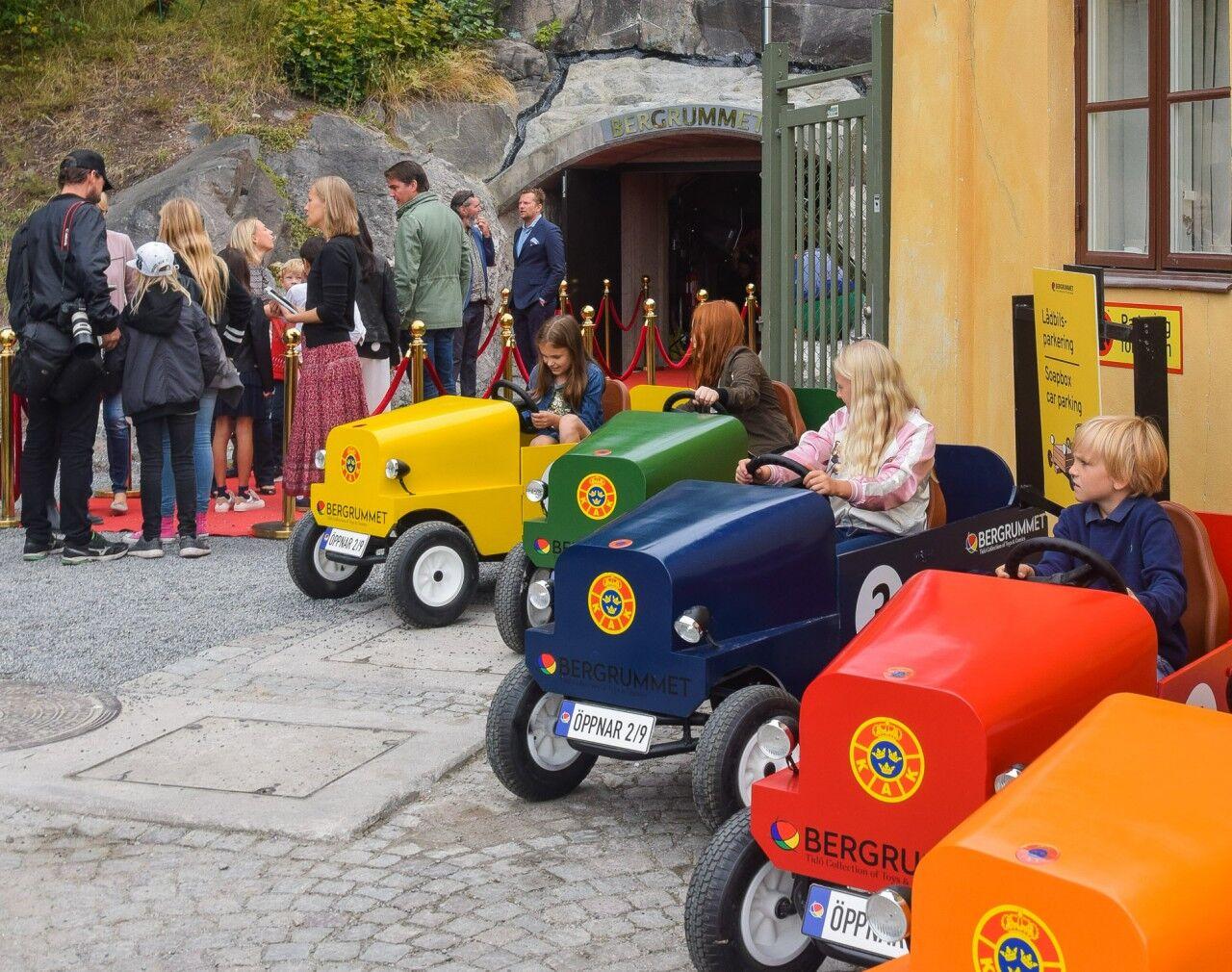 Finns även ett trevligt café inne i Bergrummet. Roligt och intressant museum för alla åldrar som nu finns till glädje för många!