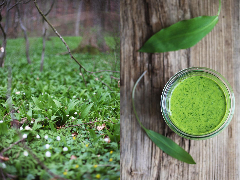 Grön aioli med ramslök. Ta till vara.