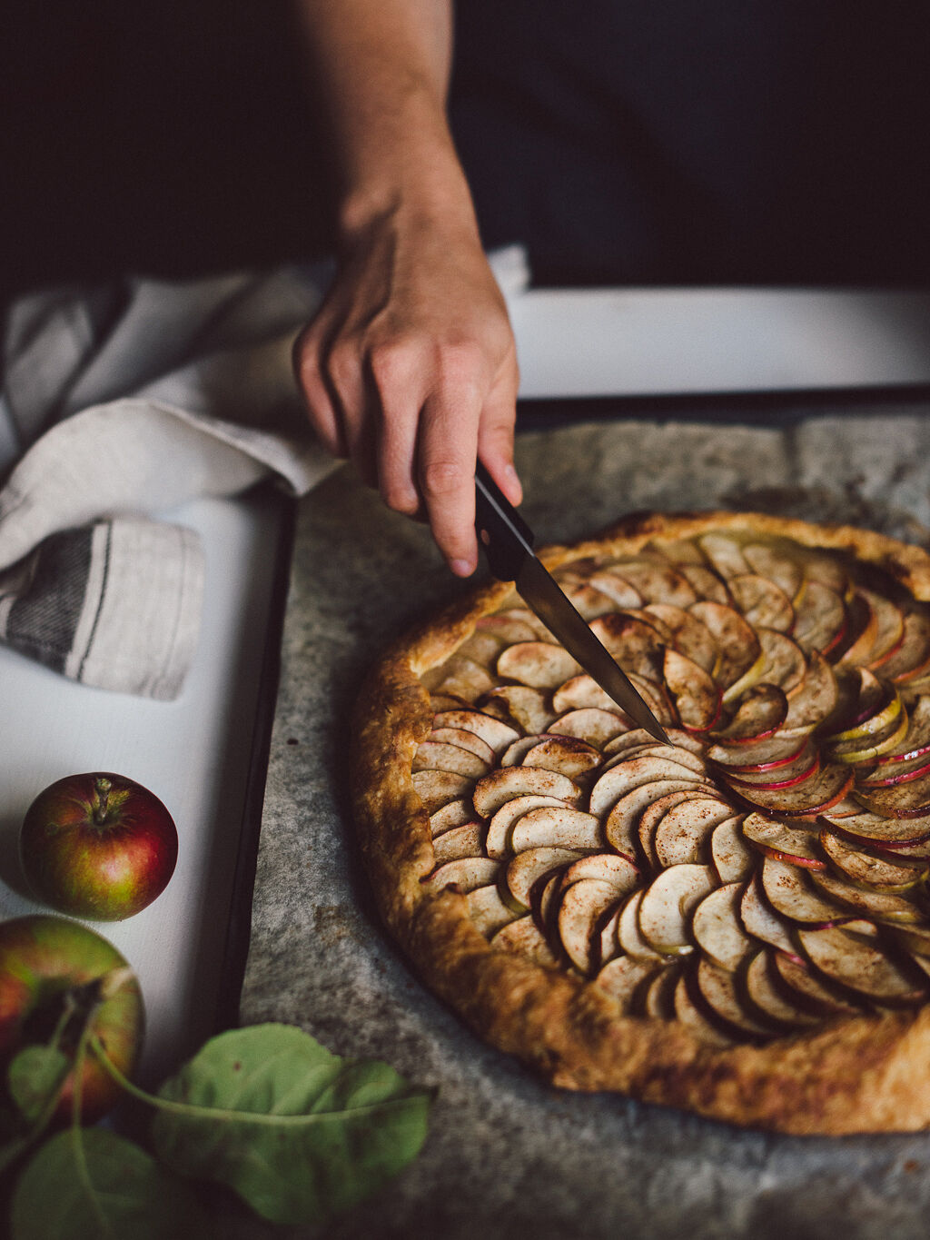 Apple galette by Babes in Boyland