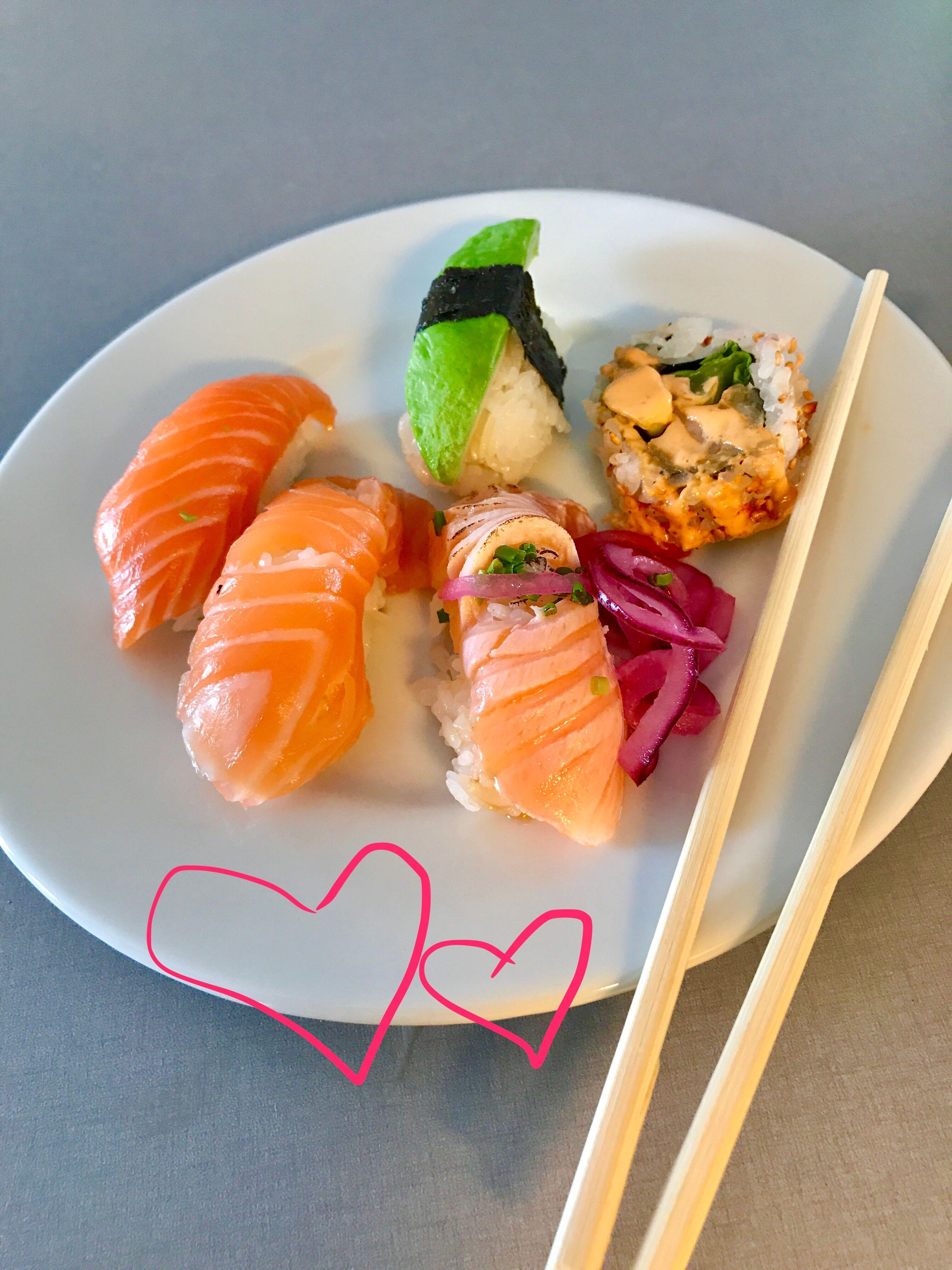 I samarbete med Norsk Sjömat och Sushi Yama