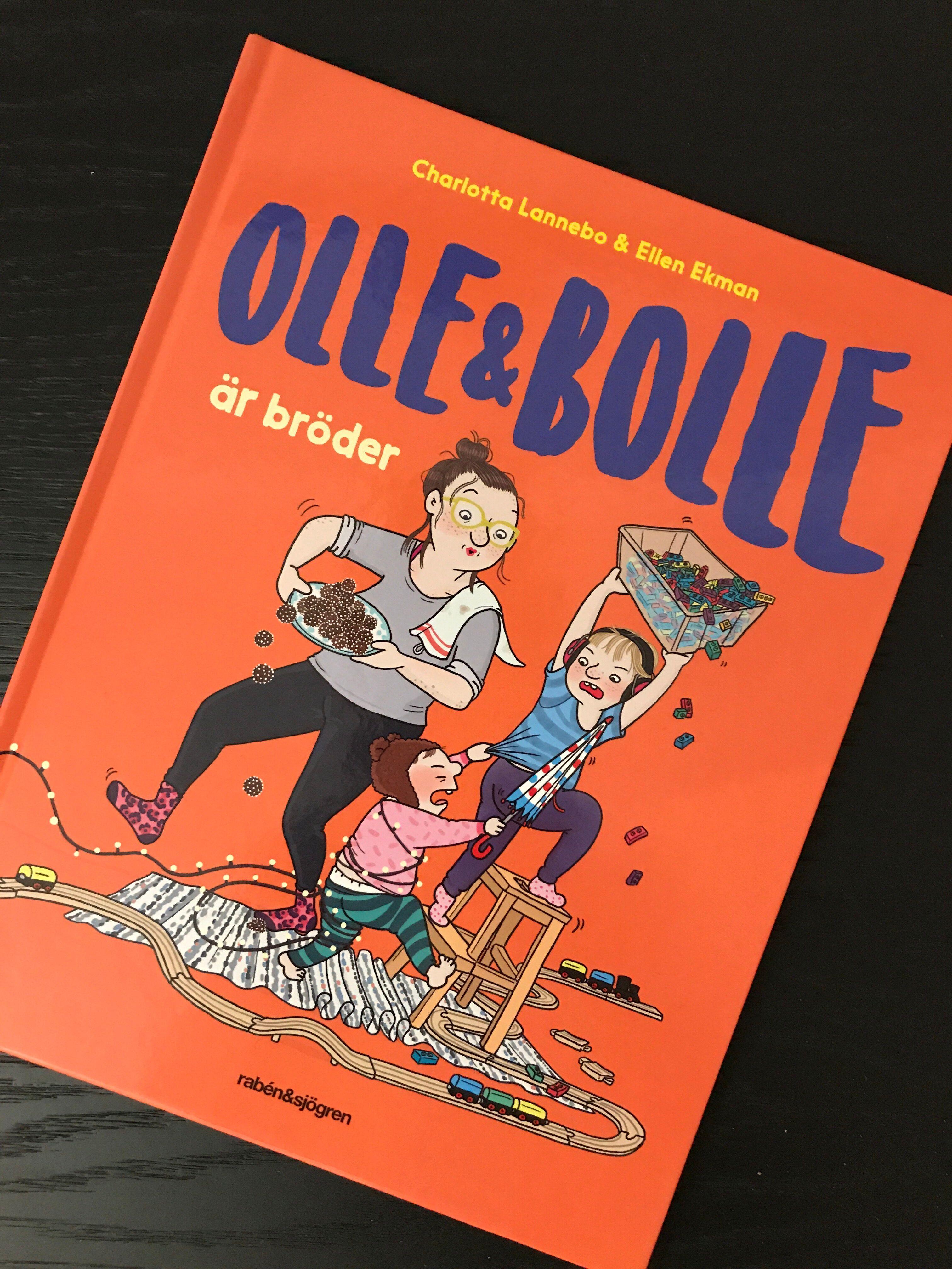Boken Olle & Bolle är bröder