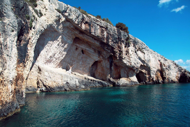 cliff zakynthos