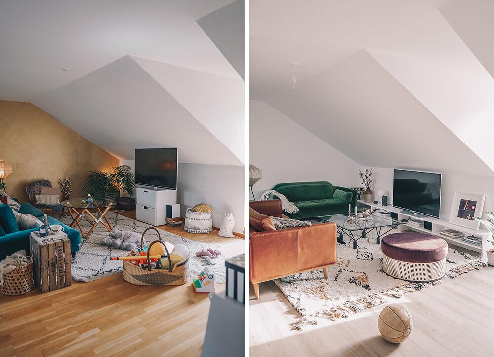 vanja wikström vardagsrum före och efter