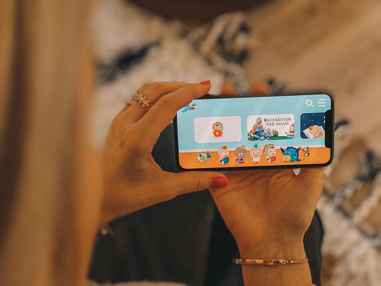 lekis tv barnapp bra app för barn babyloonz svenska barnsånger