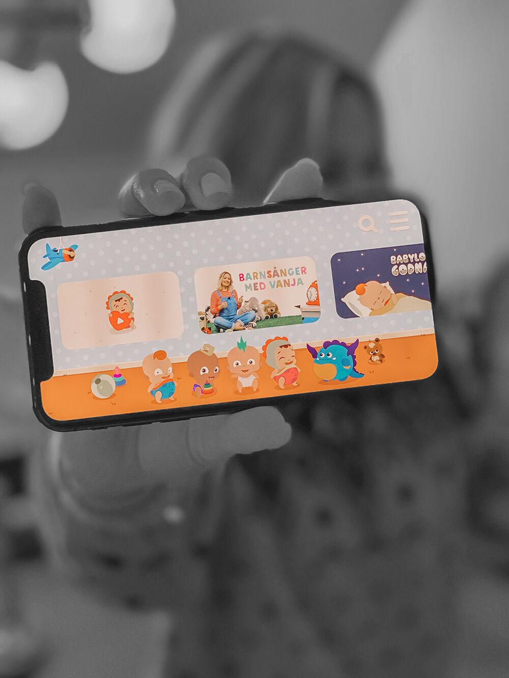 lekis tv barnapp bra app för barn babyloonz svenska barnsånger 3