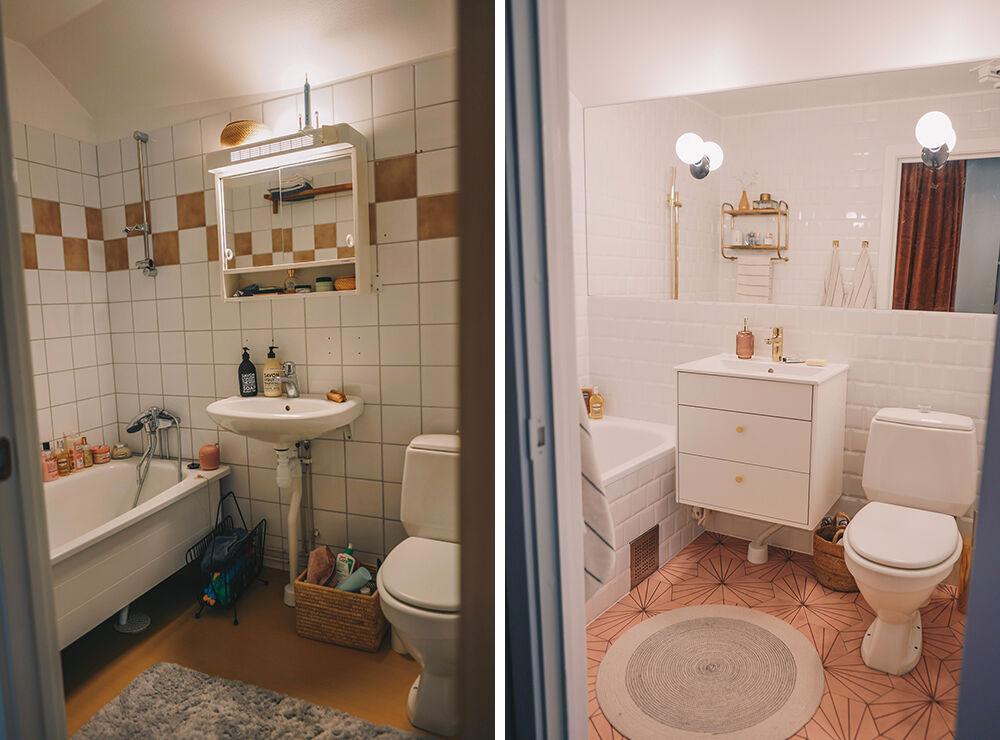 vanja wikström badrum före och efter1