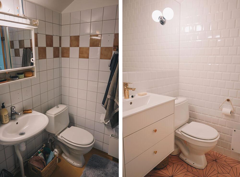 vanja wikström badrum före och efter 2
