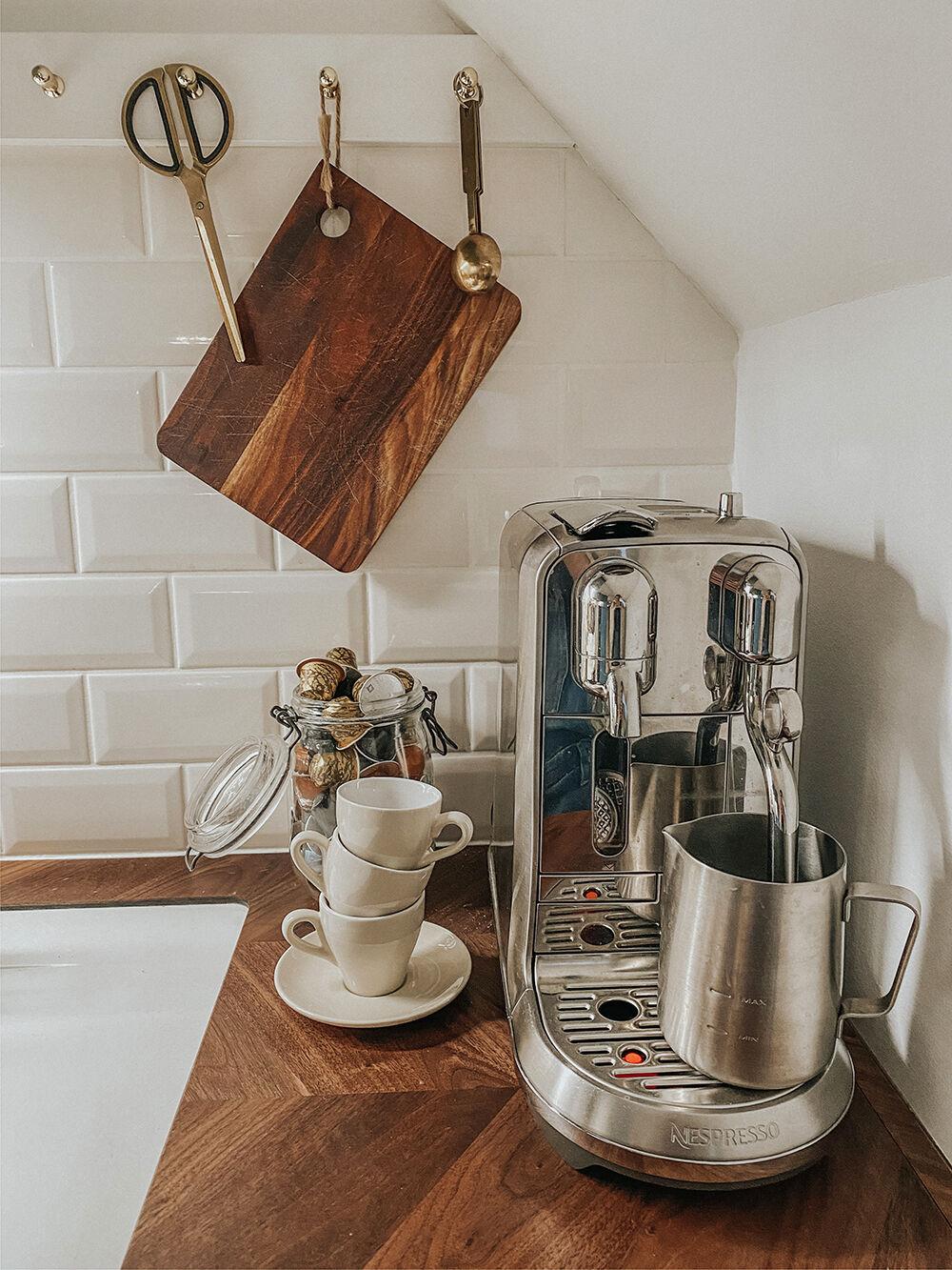 nespresso creatista kaffemaskin