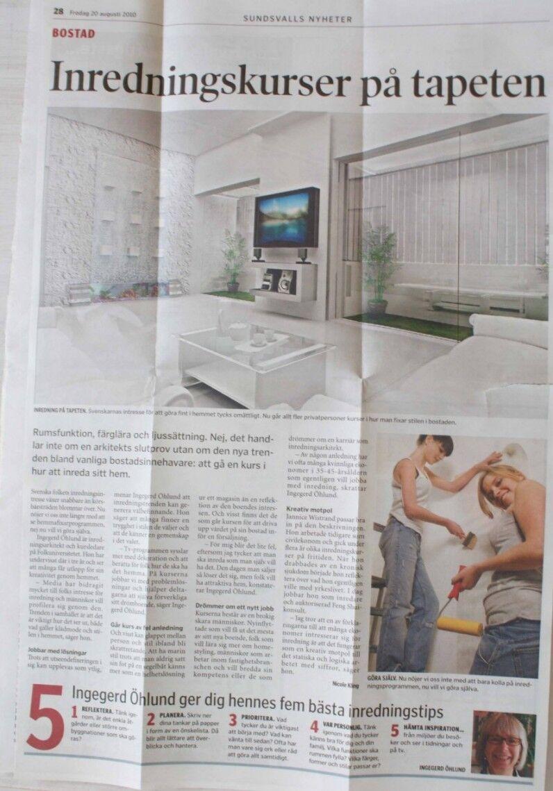 Sundsvalls Nyheter Fre 20:e aug 2010
