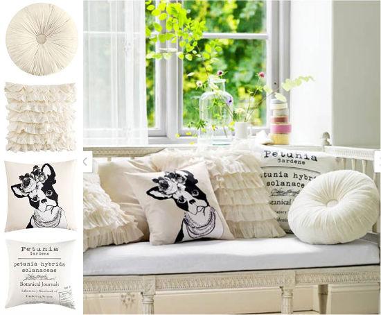 Kollage av Simplicity med bilder från HM Home