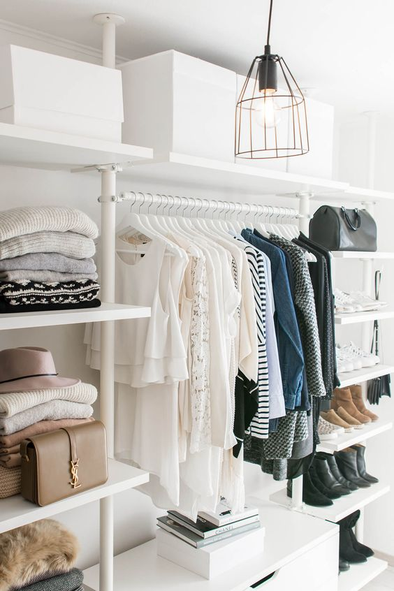 walk in closet pinterest