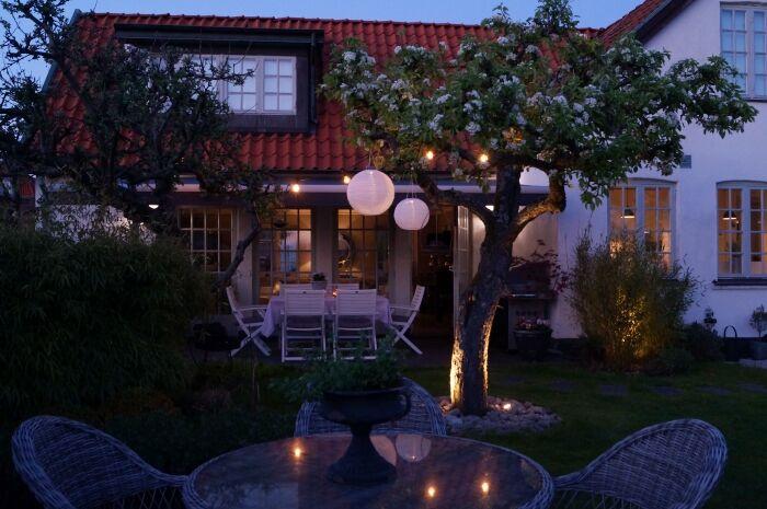 simplicity trädgård belysning 2