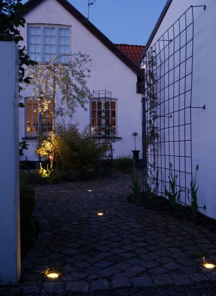 simplicity trädgård belysning entre