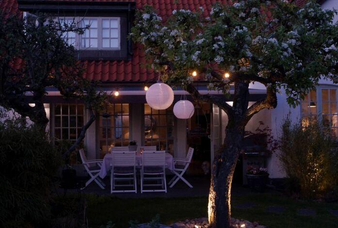 simplicity trädgård belysning