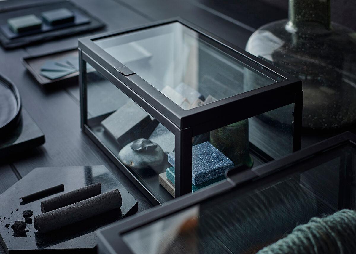 IKEA_OKAND_lada_glas_svart