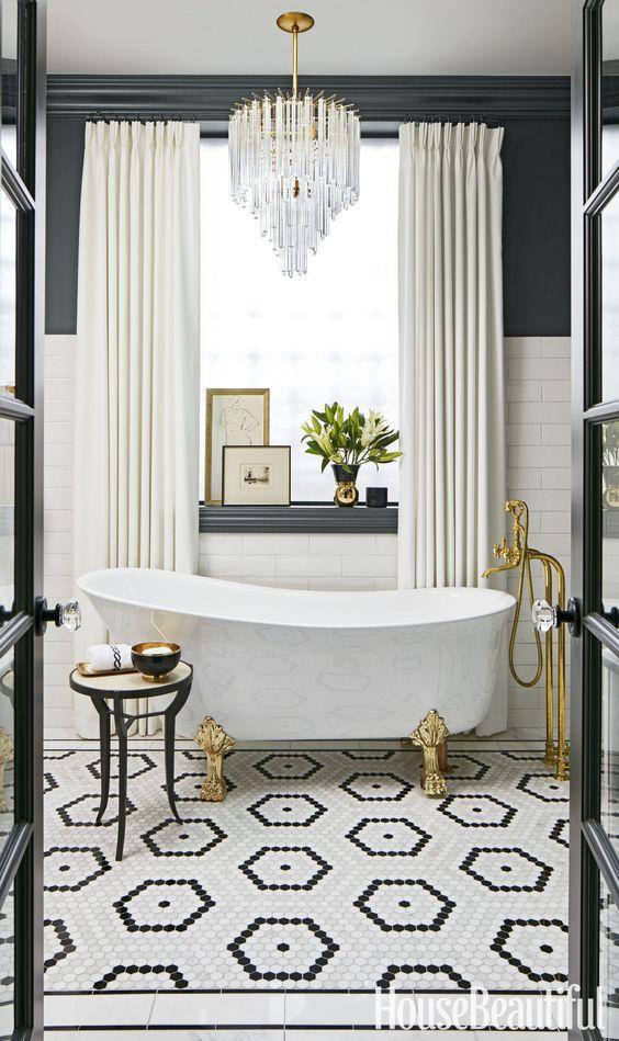 glammiga badrum