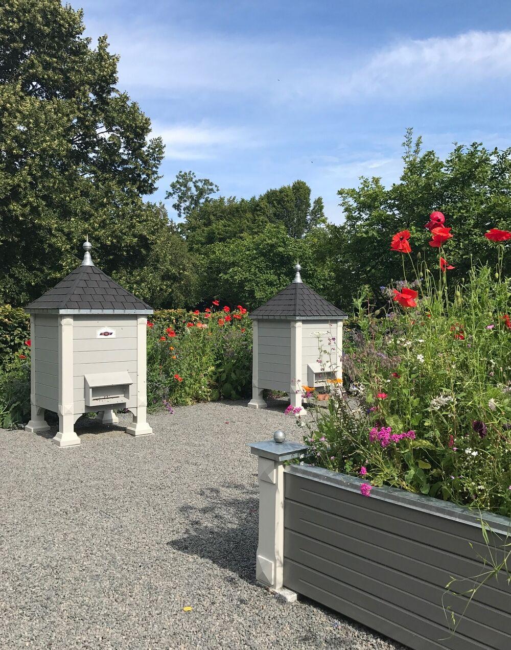 Norrvikens trädgårdar addsimplicity bikupor