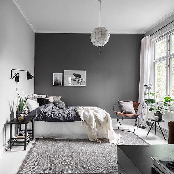 färgsättning grått
